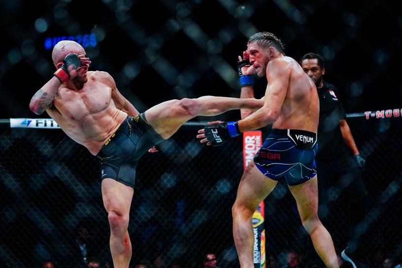 UFC 266. Volkanovski (po lewej), Ortega (po prawej) /Alex Bierens /East News