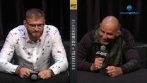 UFC 267. Glover Teixeira: Jan Błachowicz zawsze daje świetne walki. WIDEO (Polsat Sport)