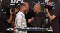 UFC 267. Jan Błachowicz - Glover Teixeira twarzą w twarz. WIDEO (Polsat Sport)