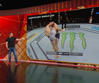 UFC. Analiza walk Drew Dobera, potencjalnego rywala Mateusza Gamrota. Wideo (POLSAT SPORT)