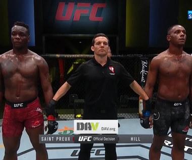 UFC Fight Night. Ovince Saint Preux - Jamahal Hill - skrót walki (POLSAT SPORT). Wideo