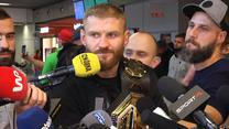 UFC. Jan Błachowicz odpowiada Interii: Wtedy poczułem, że to jest już koniec. Wideo