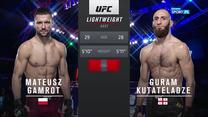 UFC. Mateusz Gamrot - Guram Kutateladze - skrót walki (POLSAT SPORT). WIDEO