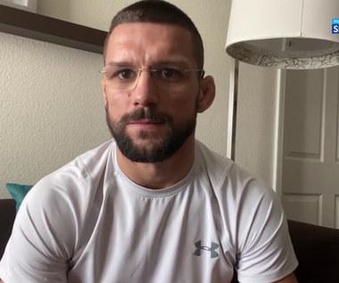 UFC. Mateusz Gamrot: Zamierzam odesłać Jeremy'ego Stephensa na emeryturę (POLSAT SPORT). Wideo