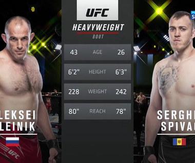 UFC. Sergiej Spivak - Aleksiej Oleinik. Skrót walki (POLSAT SPORT). Wideo