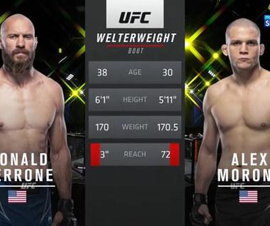 UFC Vegas 26.Alex Morono - Donald Cerrone. Skrót walki. Skrót walki (POLSAT SPORT). Wideo