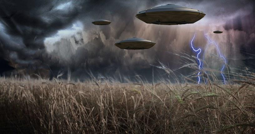 UFO czy testowy samolot amerykańskiego Air Force? Wydarzenia nad lasem Rendlesham nadal wywołują wiele konktrowersji /123RF/PICSEL