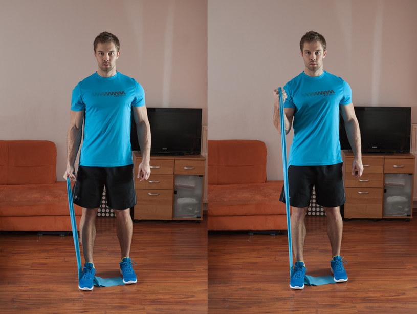 Uginanie na biceps /INTERIA.PL