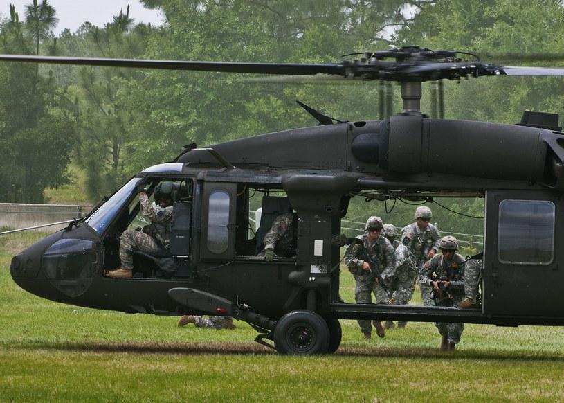 UH - 60 Black Hawk, zdjęcie ilustracyjne /AFP