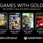Ujawniono styczniowe Xbox Live Games With Gold