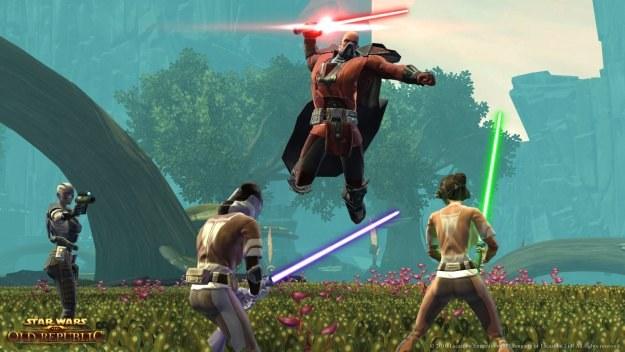 """Ujęcie z cyklu """"przyczajony Jedi, ukryty Sith"""" /Informacja prasowa"""