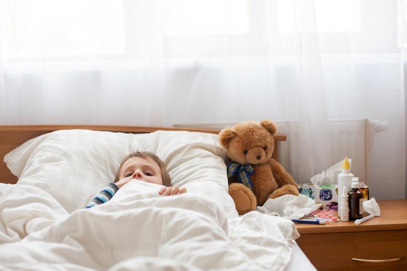 Układ odpornościowy dziecka wymaga wsparcia /123RF/PICSEL