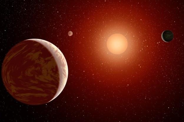 Układ planetarny - wizualizacja /NASA