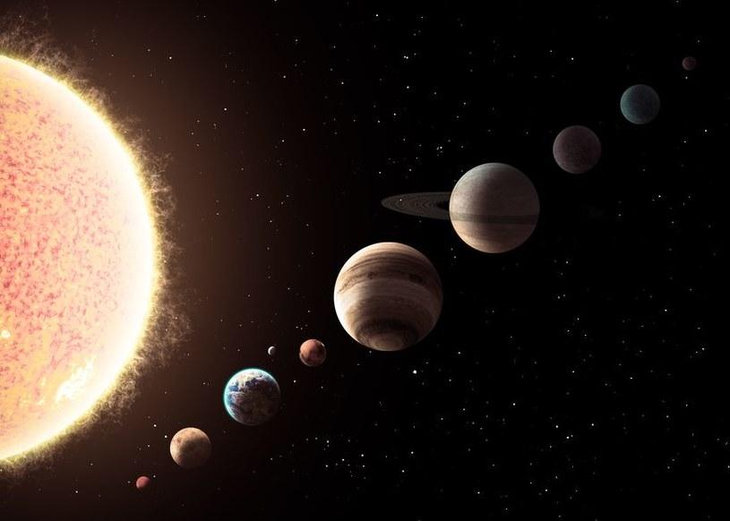 Układ Słoneczny podlega przemianom pod wpływem nieznanych sił /123RF/PICSEL