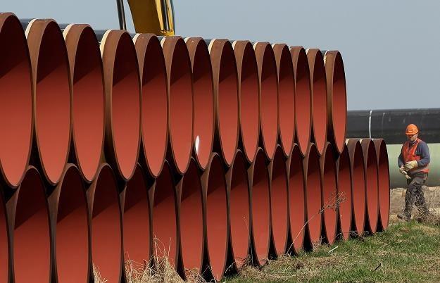 Układanie gazociągu Opal. Fot. Sean Gallup /Getty Images/Flash Press Media