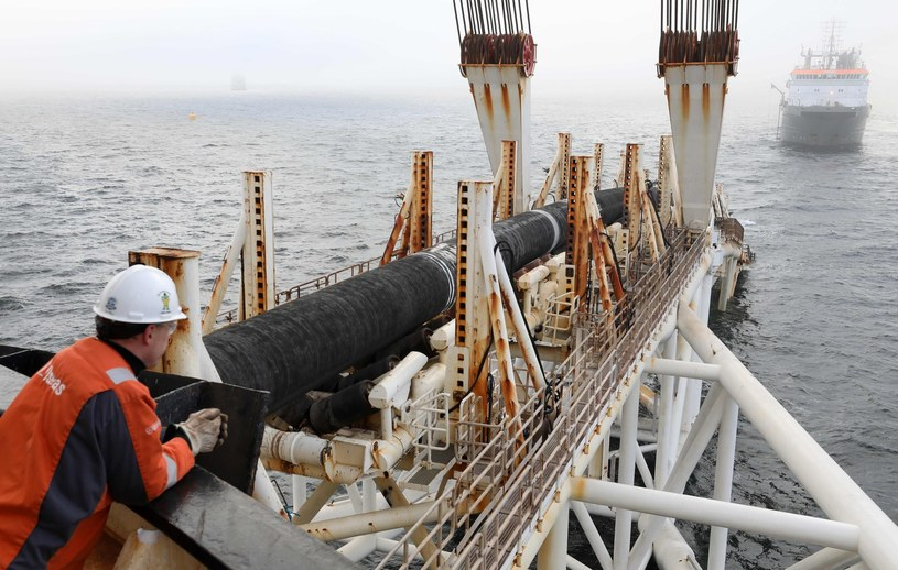 Układanie rurociągu Nord Stream 2 /AFP