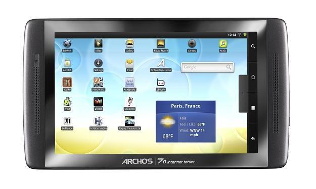Układy Rockchip mogą znaleźć się m. in.w tabletach Archos /Internet