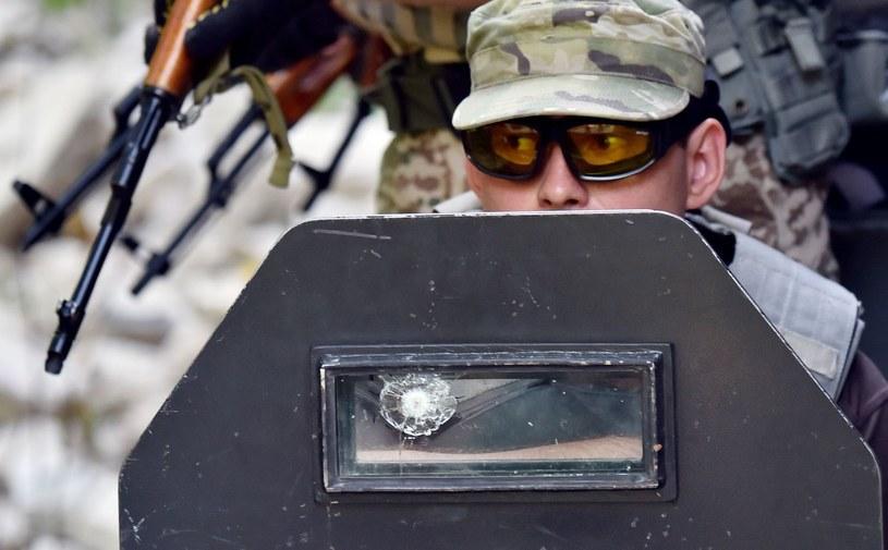 Ukraina: Armia otwiera się na cudzoziemców /AFP