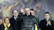 Ukraina: Chodorkowski przemawiał na Majdanie Niepodległości w Kijowie