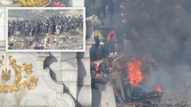 Ukraina: Do Kijowa jedzie wojsko ze wschodu kraju