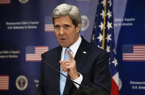 Ukraina: Kerry potępia akt agresji ze strony Rosji