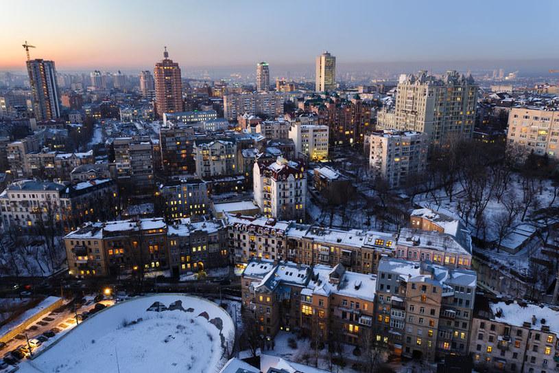 Ukraina. Kijów zimą /123RF/PICSEL