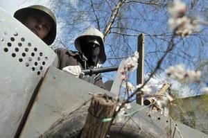 Ukraina: Mer Charkowa z ranami postrzałowymi