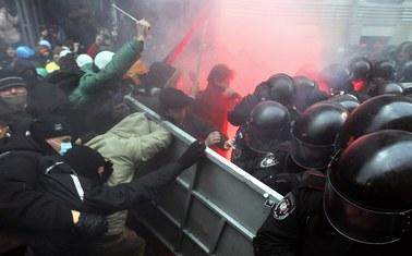 Ukraina: Miasteczko namiotowe na Euromajdanie