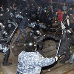 Ukraina: Milicja rozpędziła Majdan; pobito Polaków