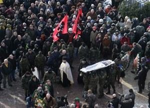 Ukraina: Msza żałobna po śmierci Białorusina