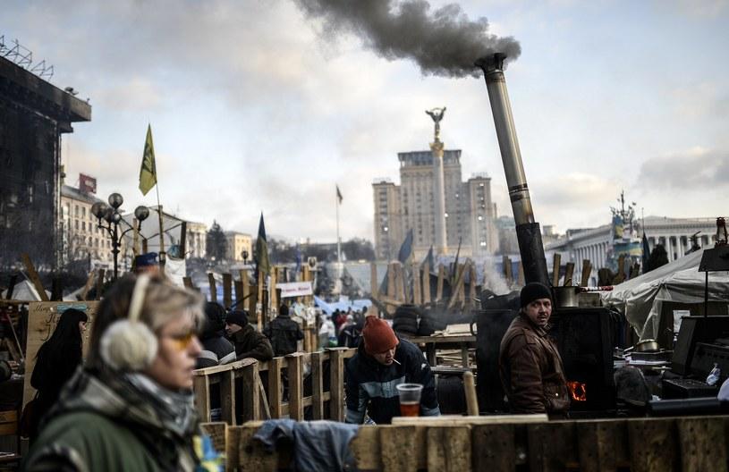 """""""Ukraina musi przejść pokojową przemianę"""" /AFP"""