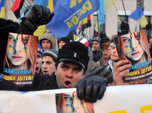 Ukraina: Opozycja rozpoczęła blokadę administracji Janukowycza