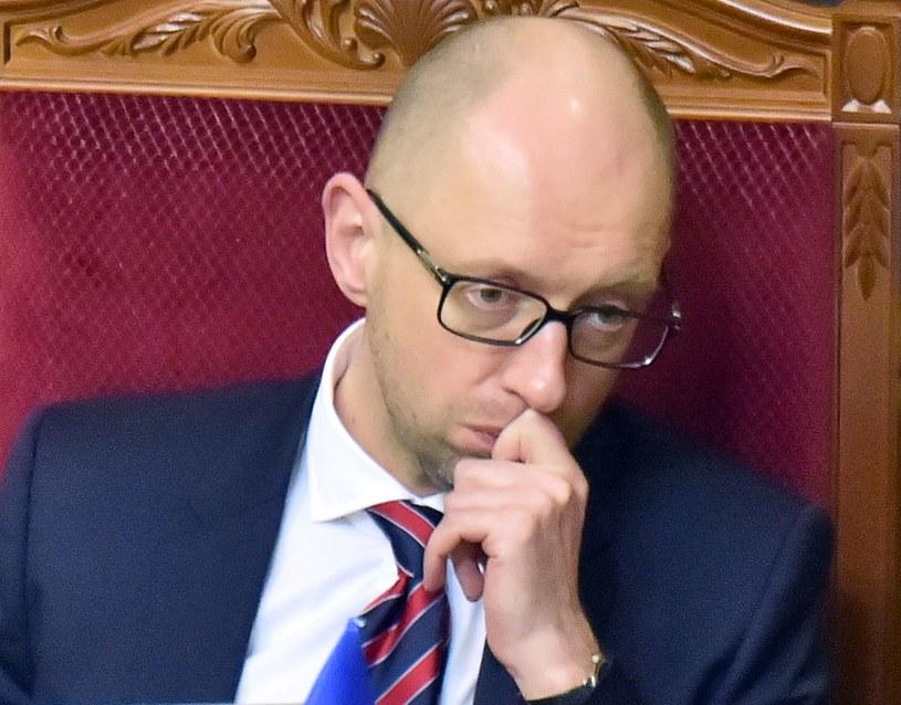 Ukraina: Parlament nie zatwierdził dymisji Arsenija Jaceniuka /AFP