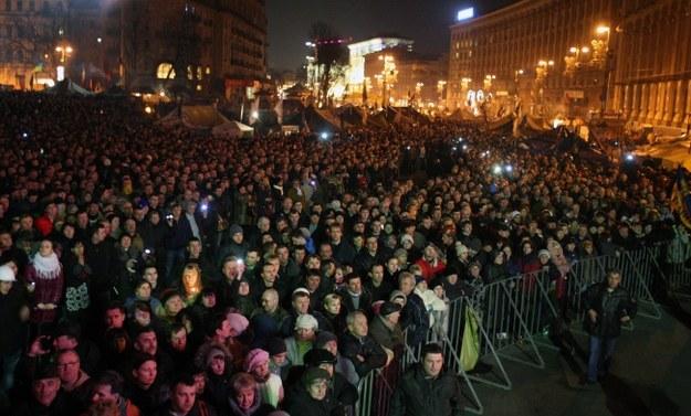 """Ukraina: Porozumienie to jeszcze nie zwycięstwo? """"Majdan będzie stał do końca"""""""