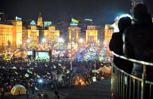 Ukraina: Protestujący obawiają się rozwiązań siłowych