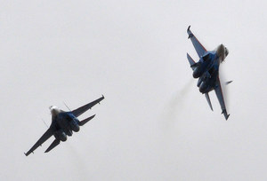 Ukraina: Rosja naruszyła przestrzeń powietrzną