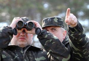 Ukraina: Turczynow polecił wznowienie operacji antyterrorystycznej