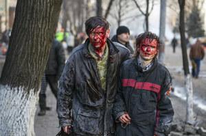 Ukraina: W starciach w Kijowie zginęło co najmniej 25 osób
