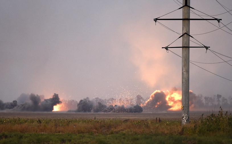Ukraina. Widok na przedmieścia Mariupola /AFP