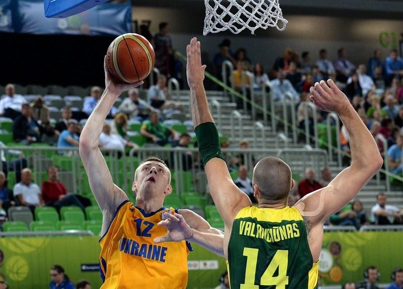 Ukraina zagra w ćwierćfinale mistrzostw Europy koszykarzy /PAP/EPA