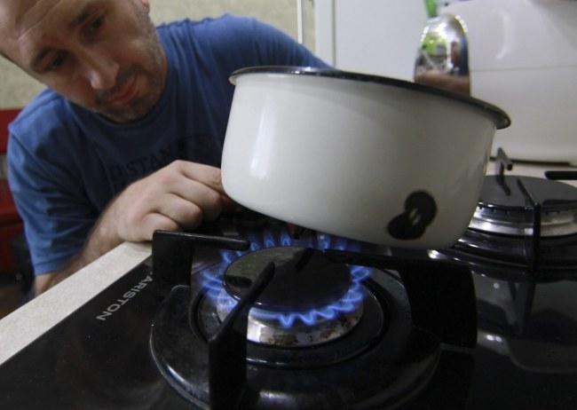 Ukraina zapewnia, że zapasy gazu wystarcza jej do grudnia /PHOTOMIG /PAP/EPA