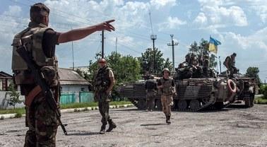 Ukraina zaprzecza, by jej żołnierze ostrzelali terytorium Rosji
