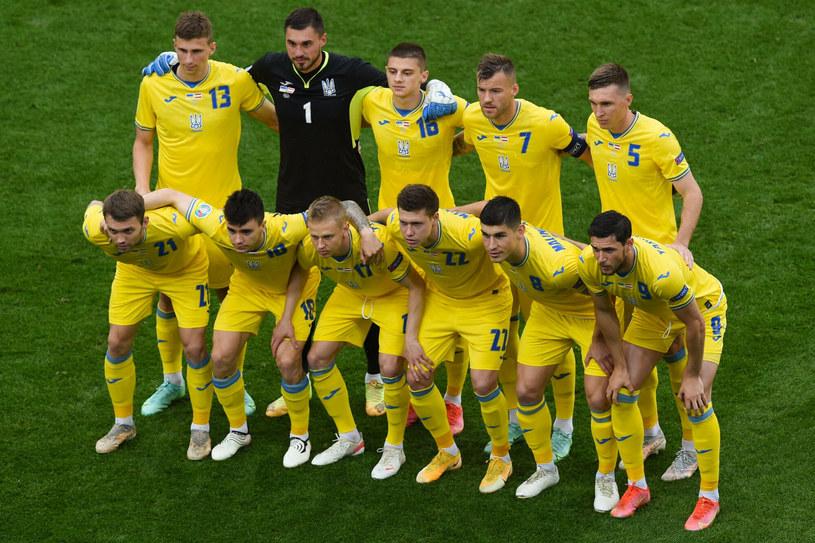 Ukraińcom udało się awansować do kolejnej fazy piłkarskich mistrzostw Europy /MIHAI BARBU/AFP/East News /East News