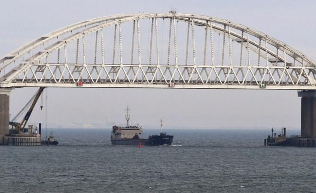 Ukraińcy oskarżają Rosjan o blokowanie ich portów na Morzu Azowskim. Moskwa zaprzecza