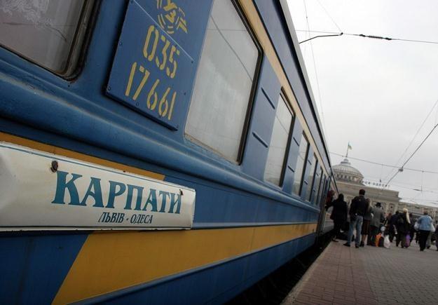 Ukraińcy też mają kolejowe problemy / fot. J. Wajszczak /Reporter