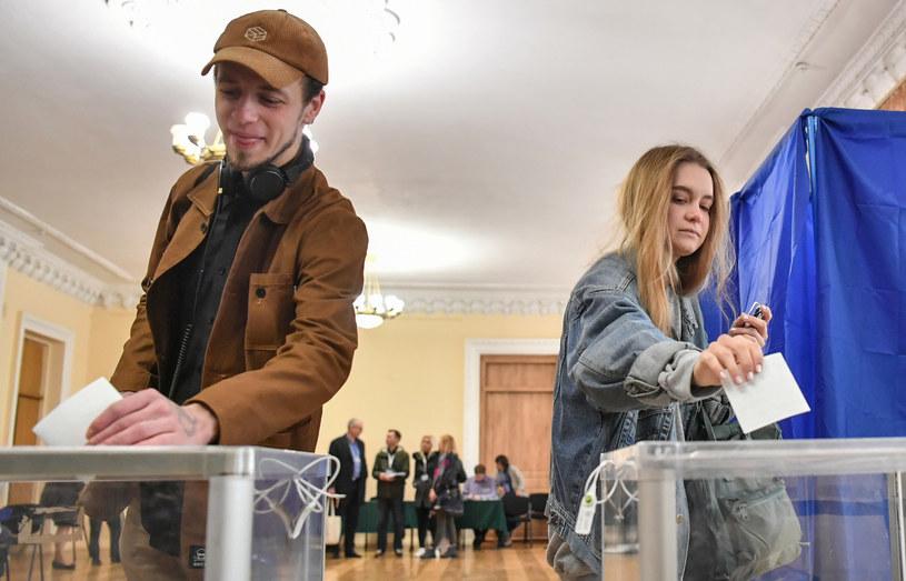 Ukraińcy wybierają prezydenta /AFP