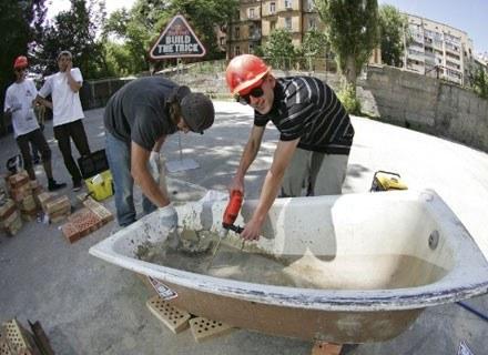 Ukraińscy deskorolkarze przy pracy. Fot.: Red Bull Photo Files /materiały prasowe