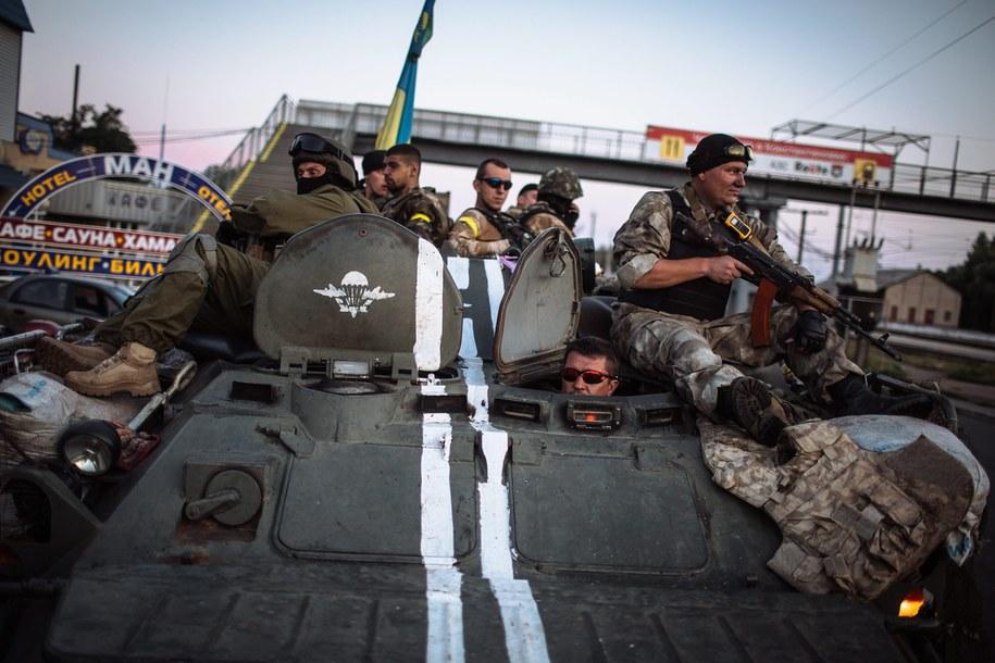 Ukraińscy żołnierze na wschodzie kraju (zdj. ilustracyjne) /ROMAN PILIPEY /PAP/EPA