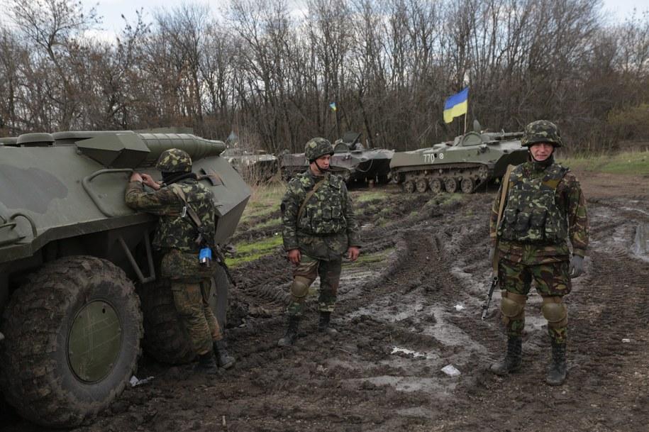 Ukraińscy żołnierze w Charkowie /ANASTASIA VLASOVA /PAP/EPA