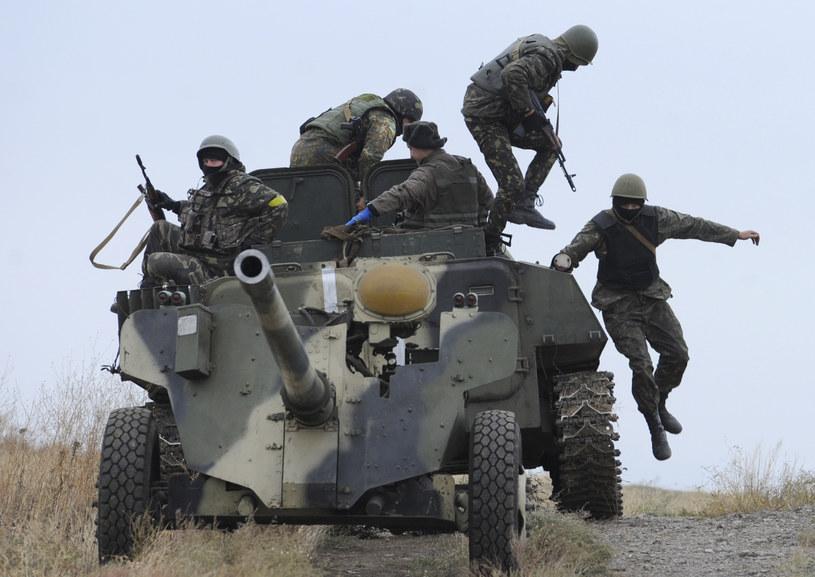 Ukraińscy żołnierze w Mariupolu, zdj. ilustracyjne /AFP